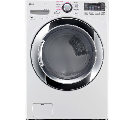 LG 7.4 Cubic Foot Ultra-Large-Capacity SteamDryer