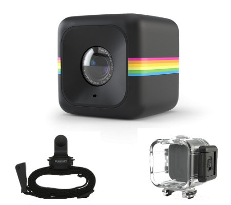 Polaroid Cube 6MP HD Action Camera with Protective Case