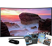 "Samsung 49"" Smart LED Curved Ultra HDTV with HDMI and App Pac - E291236"