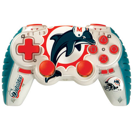 NFL Miami Dolphins Wireless Controller - PS3