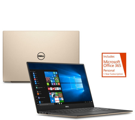 "Dell XPS 13"" Touch Laptop Core i5 Backlit 8GB RAM 256GB w/ Office 365"