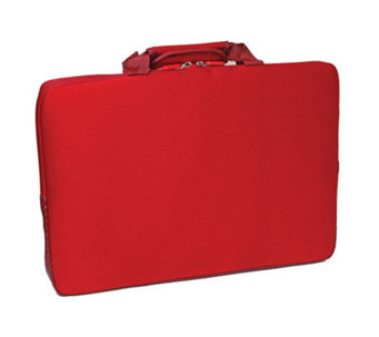 "15.6"" Notebook Sleeve with Lycra Exterior Shell- Red - E243437"
