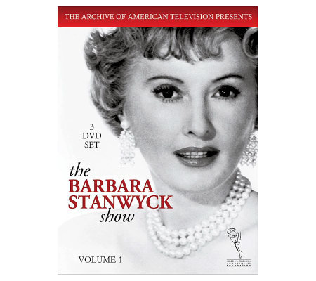 The Barbara Stanwyck Show, Vol. 1 (1960) Three-Disc DVD Set