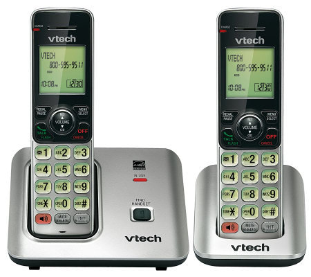 Vtech CS6619-2 Two-Handset Cordless Call ID/Call Waiting