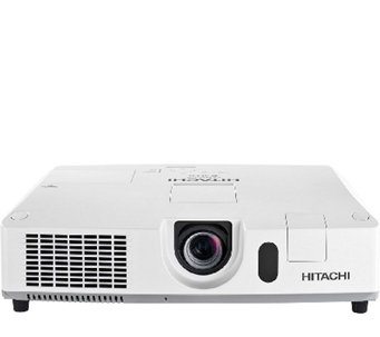 Hitachi XGA 5,000 Lumens LCD Projector with 16WSpeaker Output - E285337