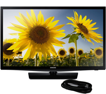"Samsung 28"" 720p LED HDTV with 6' HDMI Cable"