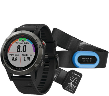Garmin fenix 5 47mm Multisport GPS Smartwatch Performer Bundl