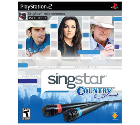 SingStar Country with Two Microphones - PS2