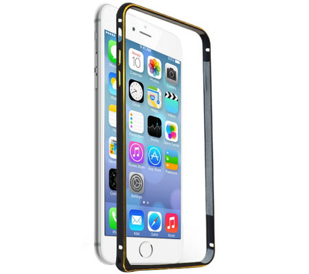 X-Tanium Protective Aluminum Bumper Case for iPhone 6 Plus