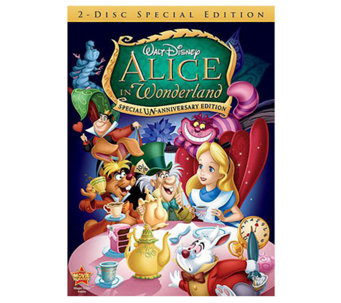 Alice in Wonderland: Special Un-Anniversary Edition DVD - E269338