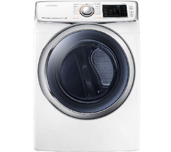 Samsung 7.5 Cubic Foot Electric Dryer - White - E277938