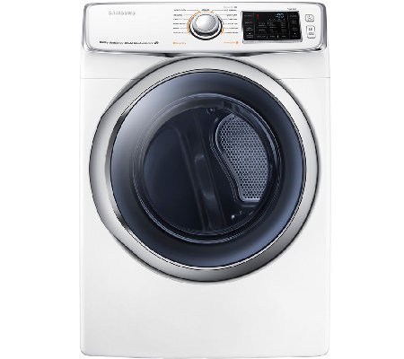 Samsung 7.5 Cubic Foot Electric Dryer - White
