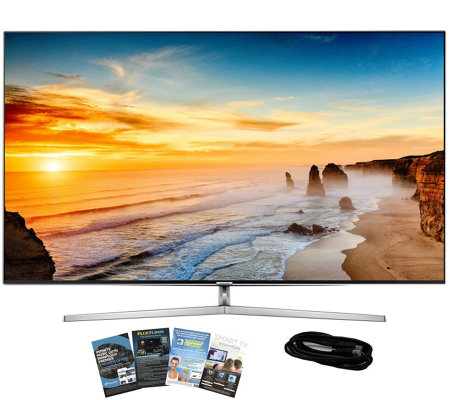 "Samsung 55"" LED 4K SUHD Smart TV with HDMI andApp Pack"