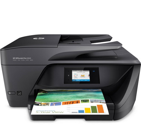 HP OfficeJet Pro 6968 All-in-One Printer with 1Mo. instant Ink