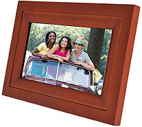 "WiFi 7"" Touchscreen Picture Frame with App, Pair up to 7 Devices - E230539"