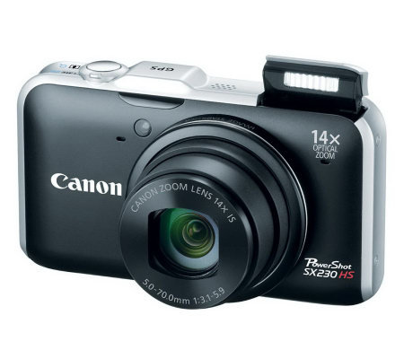 "Canon PowerShot 3"" LCD, 12MP Digital Camera with Full HD Video"