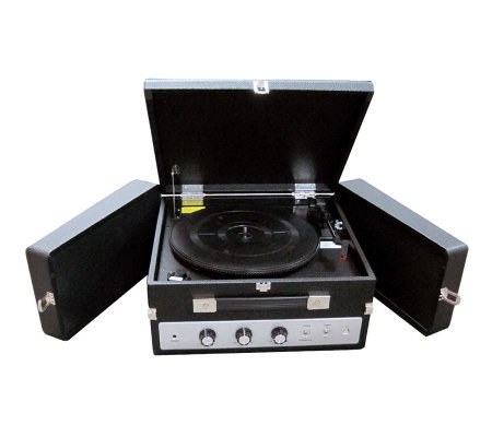 Pyle PLTTB8UI Classical Vinyl Turntable RecordPlayer