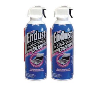 Endust Electronics 10-oz Nonflammable Duster -Twin Pack - E255339