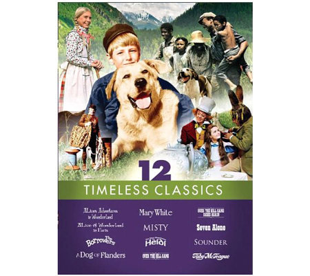 Family Film 12-Pack Timeless Classics 3-Disc DVD Set