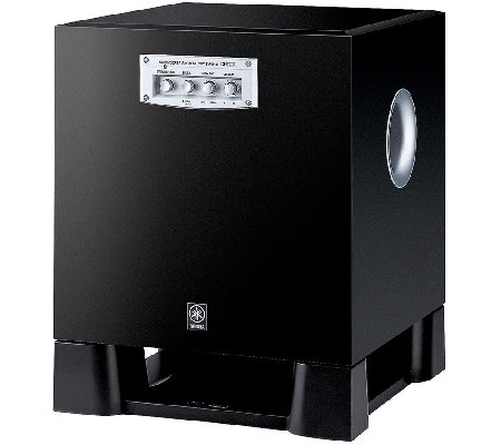 Yamaha 270W Powered Subwoofer with Dual Inputs