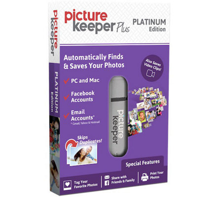 Picture Keeper Plus Platinum Photo Backup & Organizer USB Drive