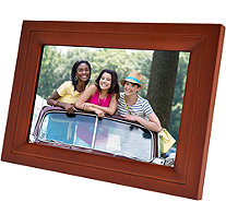 "WiFi 10"" Touchscreen Picture Frame with App, Pair up to 7 Devices - E230540"