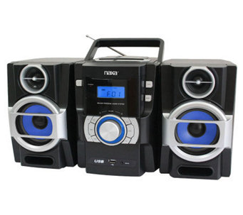 Naxa Portable MP3/CD Player with PLL FM Radio &USB Input - E272240