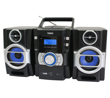 Naxa Portable MP3/CD Player with PLL FM Radio &USB Input