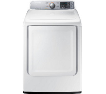 Samsung 7.4 Cubic Foot Electric Dryer - White - E277940