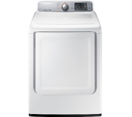 Samsung 7.4 Cubic Foot Electric Dryer - White