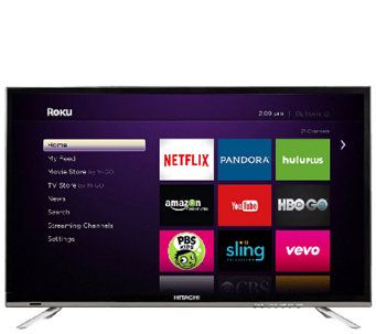 "Hitachi 32"" 1080p LED HDTV with Roku Streaming - E285640"