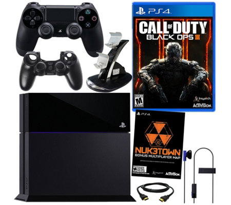 Sony PS4 Call of Duty: Black Ops III 500GB Bundle & Accs.