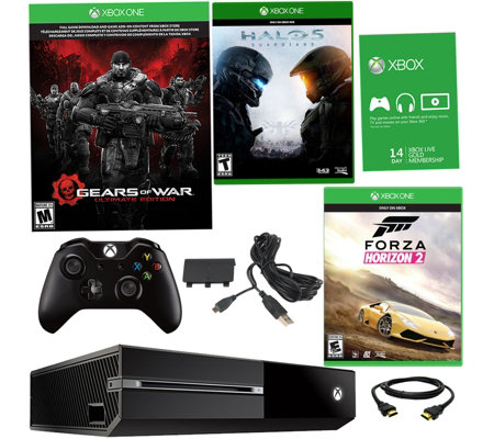 Xbox One 500GB Bundle w/ Gears of War, HALO 5 &Forza