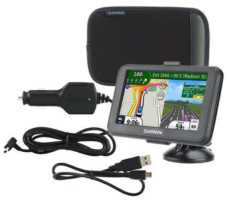 Garmin nuvi 40LM 43 GPS with Lifetime US Maps and Carry Case