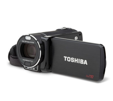 Toshiba 16MP 23x Optical Zoom Full HD Camcorderw/16GB Memory