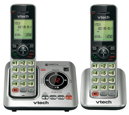 Vtech CS6629-2 Handset Cordless Answering System w/ Caller ID