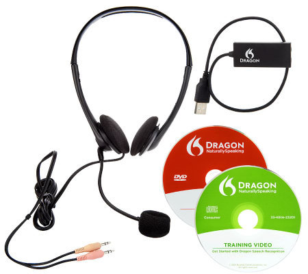 Dragon v12 NaturallySpeaki Everywhere Bundle with Apps & Headset
