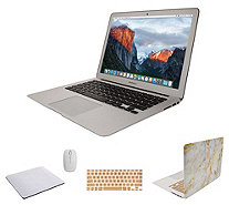 "Apple MacBook Air 13"" Laptop w/ Clip Case, Wireless Mouse And Accessories - E232042"