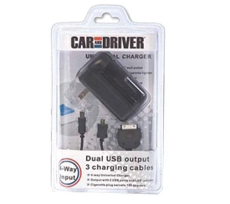 Car And Driver Universal USB Charger