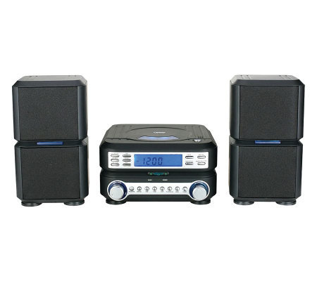 Naxa Digital CD Micro System with AM/FM StereoRadio