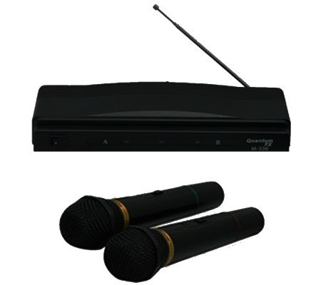 Quantum Twin Pack Wireless Microphone System