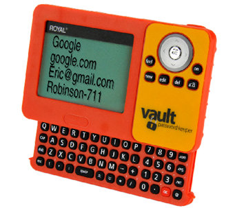 Royal PV1 Digital Vault Password Keeper - E279842