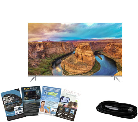 "Samsung 65"" Class 4K Ultra HD Smart TV with HDMI and App Pack"