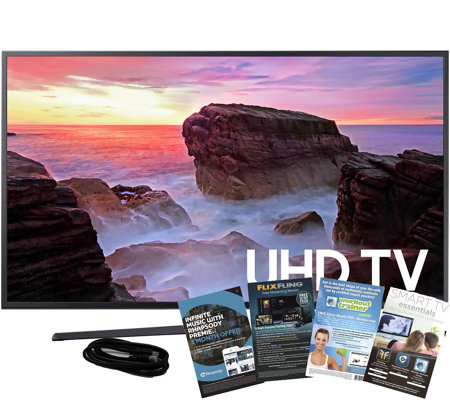 "Samsung 50"" LED Smart UHDTV with HDMI Cableand App Pack"
