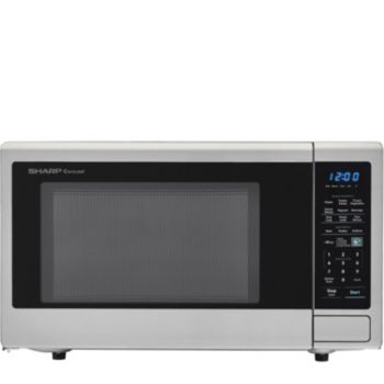 Sharp Carousel 1.8 Cu Ft 1100W Countertop Microwave Oven