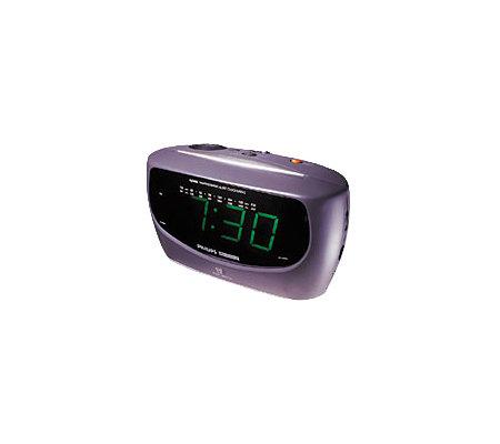 philips magnavox aj3480 dual alarm clock radio. Black Bedroom Furniture Sets. Home Design Ideas