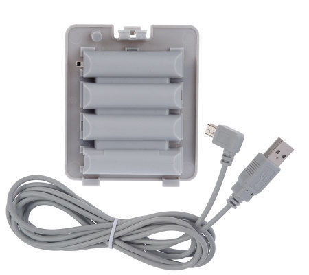 Wii Balance Board Rechargeable Battery Pack and USB Cable