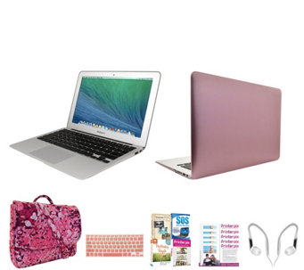 "Apple Macbook Air 13"" with Fitted Clip Case, 3in1 Bag & Software - E230443"