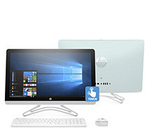 "HP 24"" Touch All-in-One PC Intel Core i3 1TB HDD w/ Tech Support - E231943"