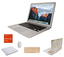 "Apple MacBook Air 13"" Laptop w/ Clip Case, MS Office 365 And Accessories - E232043"